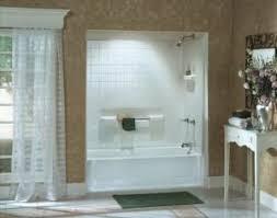 Sterling Bathtub Surround Bathtubs Showers Store Online Sterling 61040120 47 Almond 6104