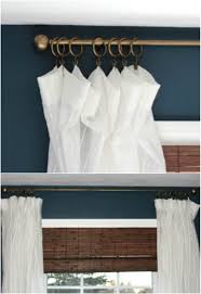 Antique Brass Curtain Rods 16 Diy Curtain Rods And Hooks That Give You Gorgeous Style On A