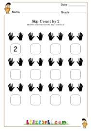 skip counting of hands worksheet teachers resources printables