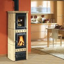 poele à bois pour cuisiner le poêle cheminée idées élégantes pour le domicile moderne poêle