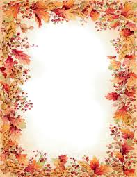 seasonal fall thanksgiving stationery papers 8 5 x 11