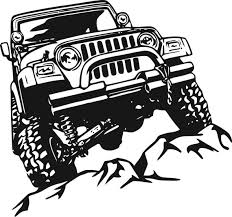 jeep decals jeep decal garage home decor wall hanging graphic design