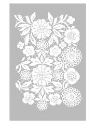 Kitchen Stencils Designs by Lace Stencil U2026 Pinteres U2026
