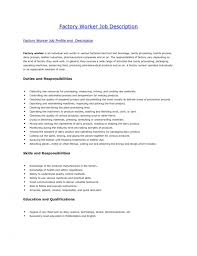 perfect cover letter for factory work 72 in cover letters for