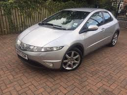 honda civic 2007 diesel 2 2l manual silver in hunslet west