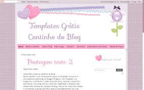 templates blogger personalizados template grátis soft cantinho do blog