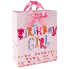 birthday pink large gift bag 13 gift bags hallmark
