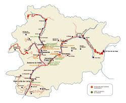 Travel Map Of Europe by Maps Of Andorra Detailed Map Of Andorra In English Tourist Map