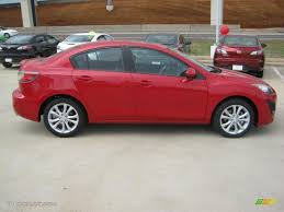 mazda 2011 velocity red mica 2011 mazda mazda3 s sport 4 door exterior photo