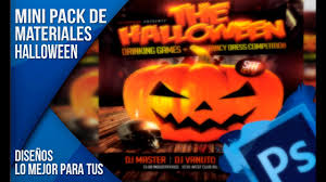 halloween drinking games mini pack de materiales para photoshop halloween youtube