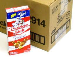 Personalized Cracker Jack Boxes Cracker Jack 1 Oz Box Case Of 25 Oldtimecandy Com