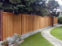 Backyard Fence Amazing Decoration Backyard Privacy Fence Marvelous 1000 Ideas