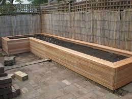 Standing Planter Box Plans by Gardening Planter Boxes Home Outdoor Decoration