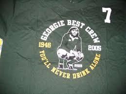 maglia george best georgie best crew t shirt a casual pagina 2