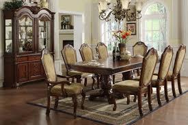 Solid Wood Formal Dining Room Sets Fa3005t Napa Dark Cherry Solid Wood 9 Piece Elegant Formal