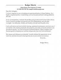 sample cover letter for maintenance position choice image letter