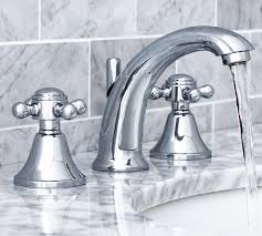Warby Cross Handle Widespread Bathroom Faucet Pottery Barn Bathroom Faucets And Fixtures