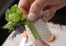 how to make wrist corsages to make a corsage
