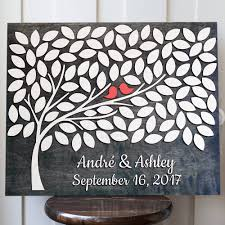 tree signing for wedding alternative guest book wedding guest book guestbook signing