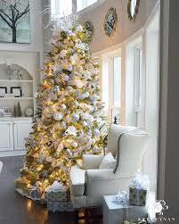 9 foot christmas tree 2015 christmas home tour silver christmas tree silver christmas
