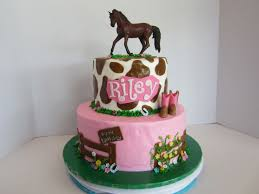 cowgirl birthday cake bc icing with fondant decorations the