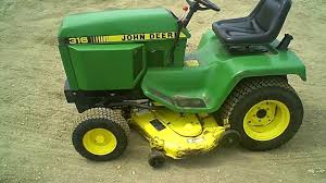 for sale clean john deere 316 lawn u0026 garden tractor w 46