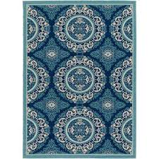 Teal Outdoor Rug 7 X 10 Outdoor Rugs Rugs The Home Depot