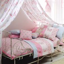 Pink Bedroom Cushions - create a princess canopy to match bedding cushions pillows