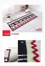 2pcs modern kitchen mat anti slip floor mat hallway balcony