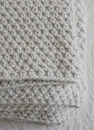 free pattern from purl soho cozy corners crib blanket knit with