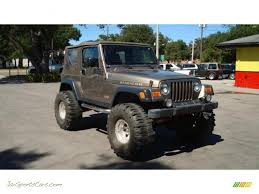 2004 jeep wrangler rubicon 4x4 in light khaki metallic 720221