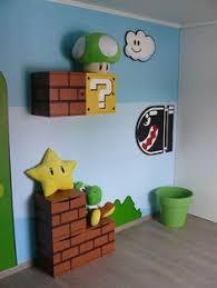 chambre mario pour bébé mario bros decoration
