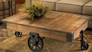 rustic coffee table with wheels rustic coffee table design images photos pictures