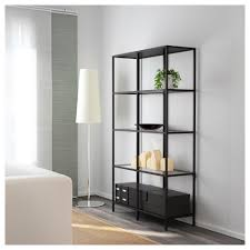 Glass Shelves For Bathrooms by Vittsjö Shelf Unit Black Brown Glass Ikea