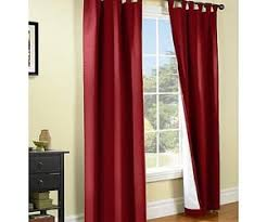 Burgundy Curtains For Living Room Living Room
