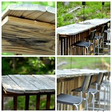 Building Outdoor Wooden Tables by 15 Amazing Diy Outdoor Furniture Ideas Perfect Weekend Projects