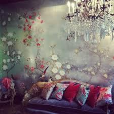 papier peint romantique chambre la deco chambre romantique 65 idées originales home inspiration