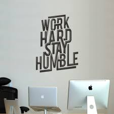 Office Wall Decor Motivation Inspirational Wall Decals Office Stay Focused Get
