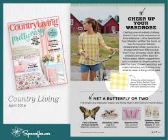 Cottage Living Magazine by Press Press Releases Spoonflower
