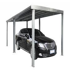 Steel Car Port Single Slope Steel Carport Kit Prestigenoir Com