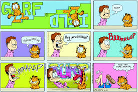 describe it garfield