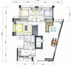Contemporary Floor Plan by Floor Plan Of A House U2013 Modern House