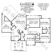 Waverly Carriage House Plan Estate Size House Plans Carriage Style House Plans