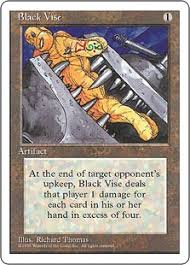 does target have black friday sales for mtg black vise magic card