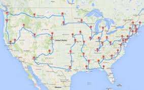 Travel Map Of Usa by 25 Best Ideas About Map Of Usa On Pinterest United States Map