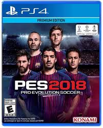 amazon com pro evolution soccer 2018 playstation 4 standard