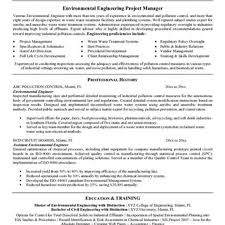 Sample Resume For Environmental Engineer by Resume Sample Environmental Engineering Augustais