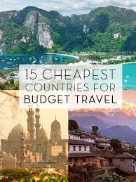 cheap places to travel images The 15 cheapest countries to visit for budget travel pinterest jpg