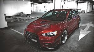 red mitsubishi lancer evolution x wallpapers and images