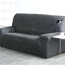 housse canapé noir housse de canape noir 3 places avec accoudoir bois et t one co